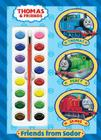 Friends from Sodor [With Paint Brush and Paint Box] Cover Image