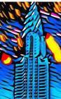 New York City Chrysler Building Art Journal Cover Image