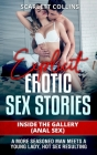 Explicit Erotic Sex Stories: Inside the Gallery (Anal Sex): A more seasoned man meets a young lady, hot sex resulting Cover Image