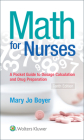 Math For Nurses: : A Pocket Guide to Dosage Calculations and Drug Preparation Cover Image
