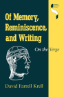 Of Memory, Reminiscence, and Writing: On the Verge (Studies in Continental Thought) Cover Image