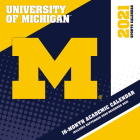 Michigan Wolverines 2021 12x12 Team Wall Calendar Cover Image