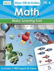 Math Wipe-Off Activities, PreK-K: Endless Hours of Learning Fun! Cover Image