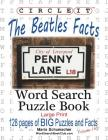Circle It, The Beatles Facts, Word Search, Puzzle Book Cover Image