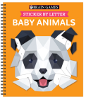 Brain Games - Sticker by Letter: Baby Animals Cover Image