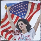 Lana del Rey 2021 Wall Calendar: LANA DEL REY 2021 WALL CALENDAR 8.5x8.5 FINISH GLOSSY Cover Image