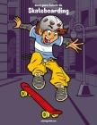 Livro para Colorir de Skateboarding Cover Image