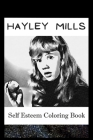 Self Esteem Coloring Book: Hayley Mills Inspired Illustrations Cover Image
