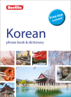 Berlitz Phrase Book & Dictionary Korean (Bilingual Dictionary) Cover Image