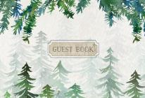 Guest Book Cabin Edition Cover Image