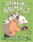 Drinking Animals Coloring Book Cover Image