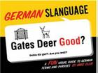 German Slanguage: A Fun Visual Guide to German Terms and Phrases Cover Image