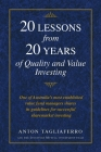 20 LESSONS from 20 YEARS of Quality and Value Investing: One of Australia's most established value fund managers shares its guidelines for successful Cover Image