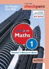 Cambridge Checkpoint Maths Teacher's Resource Book 1 Cover Image