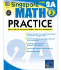 Math Practice, Grade 3: Reviewed and Recommended by Teachers and Parents (Singapore Math Practice) Cover Image