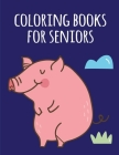 coloring books for seniors: christmas coloring book adult for relaxation Cover Image