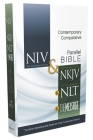 Contemporary Comparative Side-By-Side Bible-PR-NIV/NKJV/NLT/MS Cover Image
