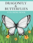 Dragonfly & Butterflies Coloring Book: Detailed Insects Illustrations for Adults Cover Image