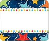 Stars Name Tags Cover Image