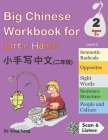 Big Chinese Workbook for Little Hands, Level 2 Cover Image