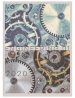Engineering 01. The Engine 2020: Large Engineer Notebook for year 2020 - 2021 Best Projects Tracker with monthly and weekly goal for 24 months plus sc Cover Image