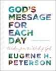 God's Message for Each Day: Wisdom from the Word of God Cover Image