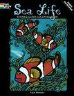 Sea Life Stained Glass Coloring Book (Dover Nature Stained Glass Coloring Book) Cover Image