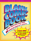 Blank Comic Book (Stencil Included) Cover Image