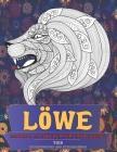 Mandala Malbücher für Erwachsene - Entspannung und Stressabbau - Tier - Löwe Cover Image