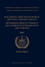 Pleadings, Minutes of Public Sittings and Documents / Mémoires, Procès-Verbaux Des Audiences Publiques Et Documents, Volume 9 (2001) Cover Image