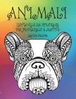 Zentangle da colorare per pennarelli e matite - Grande stampa - Animali Cover Image