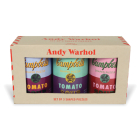 Andy Warhol Soup Cans Set of 3 Shaped Puzzles in Tins Cover Image