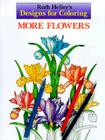Designs for Coloring: More Flowers Cover Image