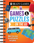 Brain Games Mini - Games and Puzzles on the Go: Make Trips More Fun with Puzzles and Games Cover Image