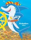 Piratentiere-Malbuch 1 Cover Image