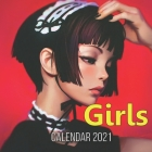 Girls Calendar 2021: girl anime character illustration, anime girls, Manga, Female Cover Image