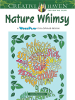 Creative Haven Nature Whimsy: A Wordplay Coloring Book (Creative Haven Coloring Books) Cover Image