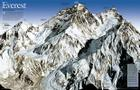 National Geographic: Mount Everest 50th Anniversary: 2 Sided Wall Map (31.25 X 20.25 Inches) (National Geographic Reference Map) Cover Image