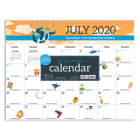 Cal 2021- Every Day's a Holiday Academic Year Desk Pad Cover Image