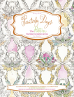 Painterly Days: The Pattern Watercoloring Book for Adults Cover Image