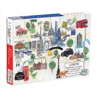 London Map 1000 Piece Puzzle Cover Image