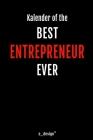 Kalender für Entrepreneur: Immerwährender Kalender / 365 Tage Tagebuch / Journal [3 Tage pro Seite] für Notizen, Planung / Planungen / Planer, Er Cover Image