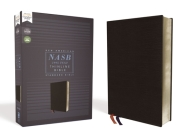 Nasb, Thinline Bible, Bonded Leather, Black, Red Letter Edition, 1995 Text, Comfort Print Cover Image