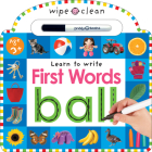 Wipe Clean: First Words Cover Image