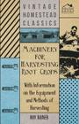 Machinery for Harvesting Root Crops - With Information on the Equipment and Methods of Harvesting Cover Image