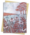 Janine Partington: Copper Foil Meadow Scene Greeting Card Pack: Pack of 6 (Greeting Cards) Cover Image