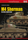 M4 Sherman: M4, M4a1, M4a4 Firefly (Topdrawings) Cover Image