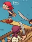 Pirati Libro da Colorare 2 Cover Image