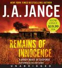 Remains of Innocence Low Price CD: A Brady Novel of Suspense Cover Image