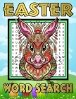 Easter Word Search: Happy Easter Word Search Book with Solutions for Adults, Senior and Teenage Boys & Girls - One Puzzle Per Page - Large Cover Image